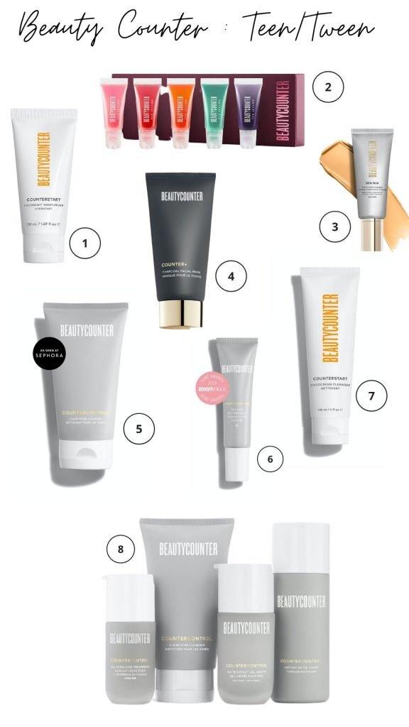 Beauty Counter Gift Guide Teen Tween