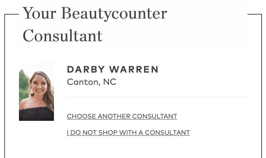 Darby Warren Beautycounter Consultant